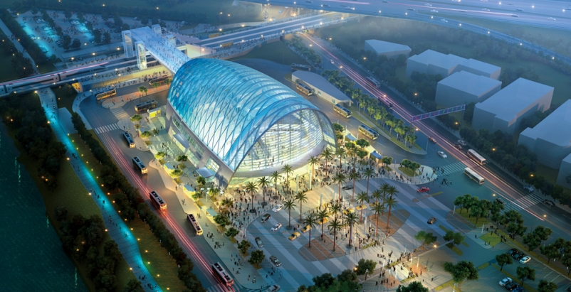 Set to open later this year, the $184 million Anaheim (Calif.) Regional Transpor