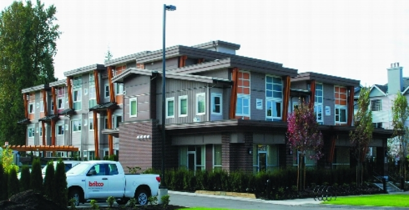 Entries included a refurbished three-story supportive housing facility from a 20