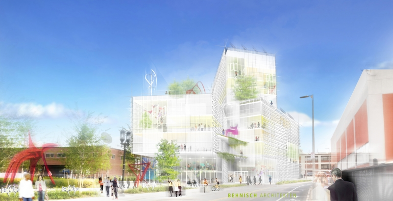 Rendering courtesy Behnisch Architekten