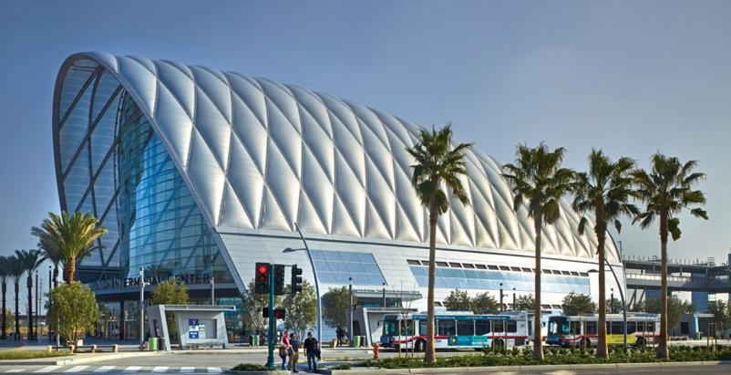 Anaheim's soaring intermodal hub