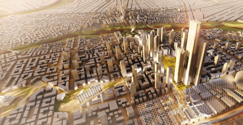 SOM leads planning for Egypt's new capital