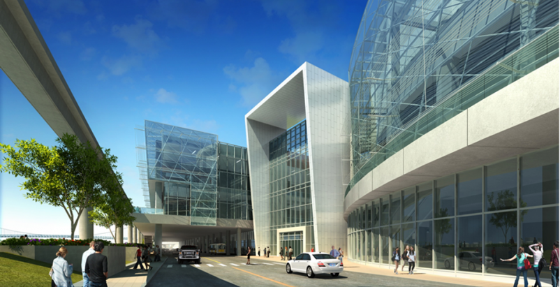 Cobo Conference and Exhibition Center Expansion & Renovation, Detroit, Mich. Bui