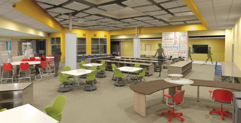 The Colonel Smith Middle School in Fort Huachuca, Ariz., is about to open for th