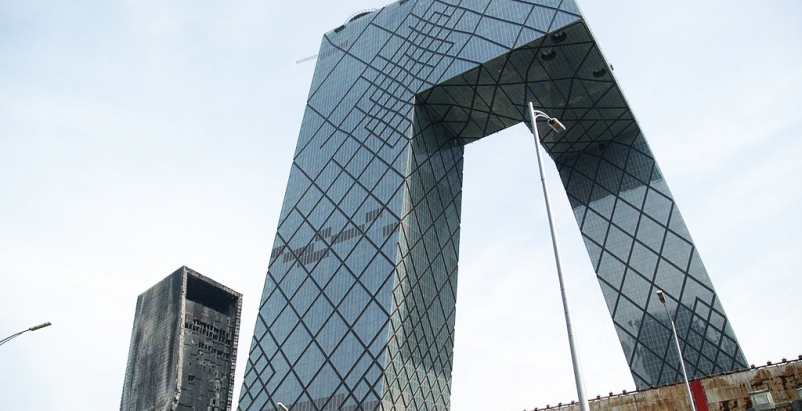 OMA's CCTV building needed a wi-fi retrofit, Rem Koolhaas, Forbes