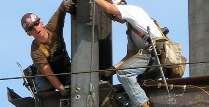 "Fall prevention is the theme of OSHA's ""Stand Down"" campaign. Photo: Wikimedia C"