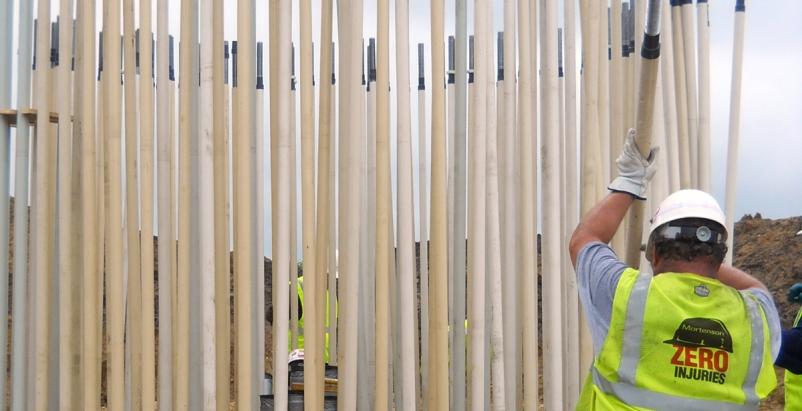 Mortensen Construction wind farms Iowa