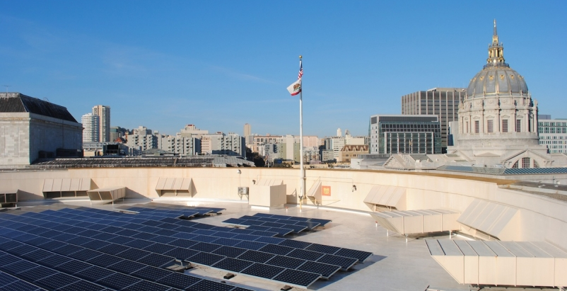 A revitalized solar roof for San Francisco's Davies Symphony Hall