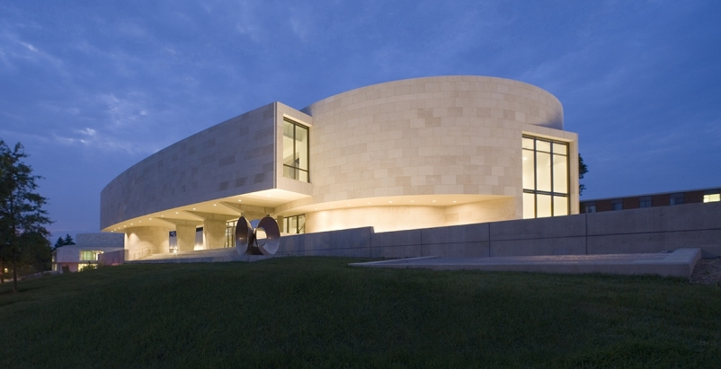 Katzen Arts Center, American University, Washington, D.C., designed by EYP. Phot
