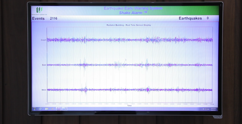 First earthquake warning system installed in North Portland