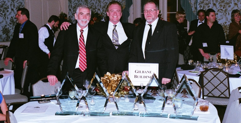 Steve Crippen, Gilbane Building Co;, Marshall Cook, Marek Brothers; Gerald Moore