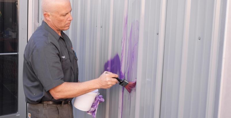 Graffiti vandalism is on the rise