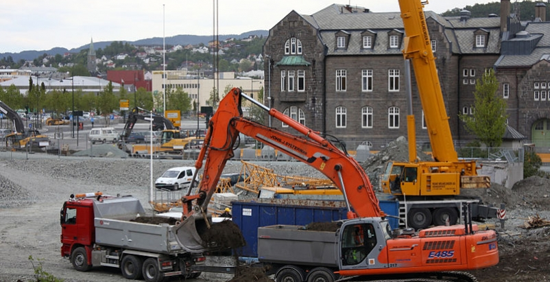 Construction highest employment total