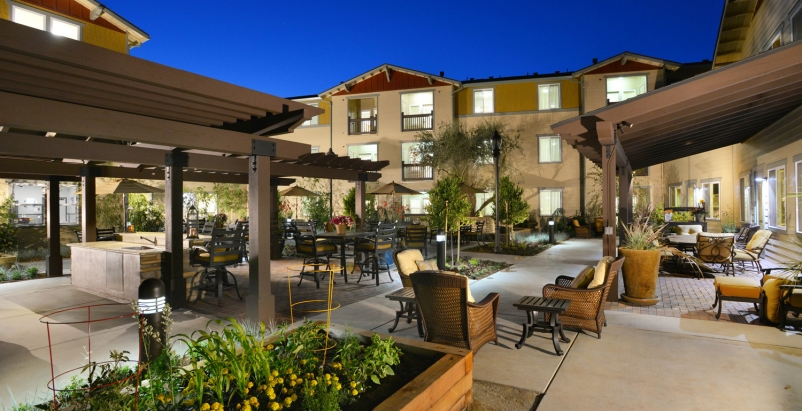 Oakdale Calif Heritage Oaks Senior Apartments Opens Building Design Construction