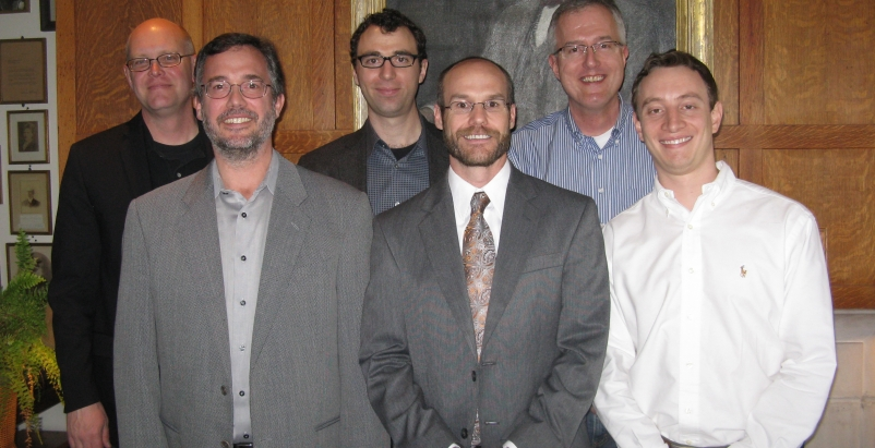 2012 Building Team Awards jury members (left to right): Timothy Brown, AIA; Pete