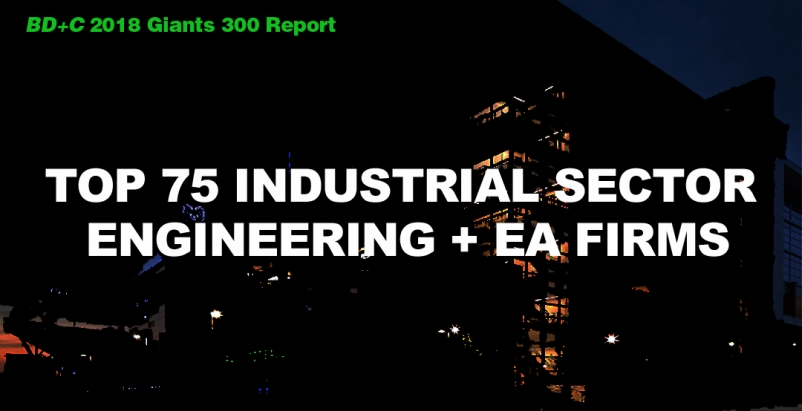 Top 75 Industrial Sector Engineering + EA Firms [2018 Giants 300 Report]
