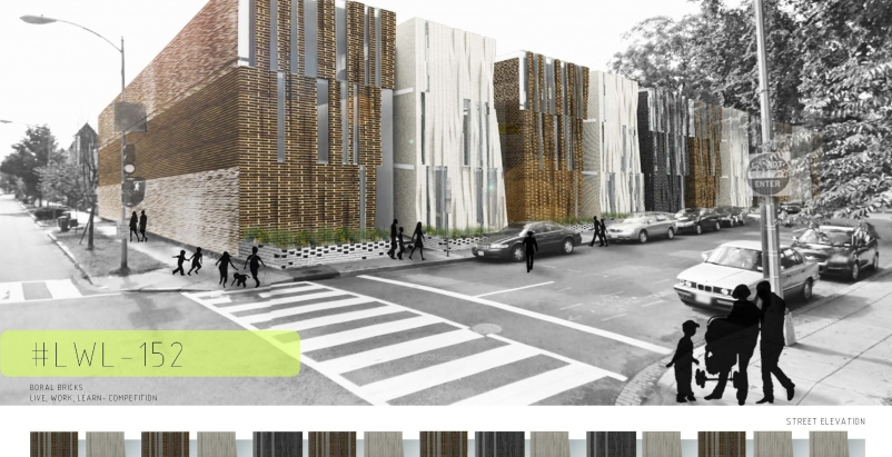 Eun Grace Ko's winning entry for Boral Brick's Live.Work.Learn student archite
