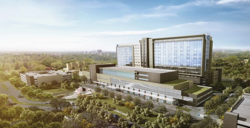 HDR was selected to design Humber Rivers new 1.7-million-sf hospital in Toronto