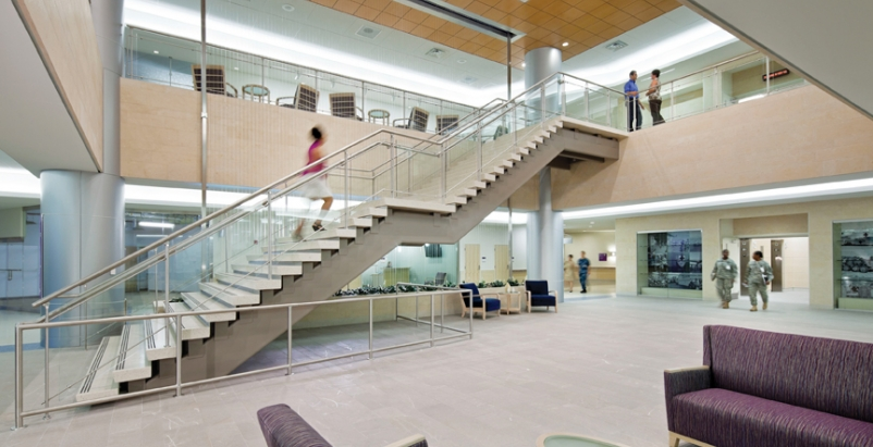 Built within four years, Fort Belvoir Community Hospital is one of the largest h