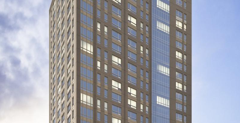 Suffolk Construction Kensington residential building Boston