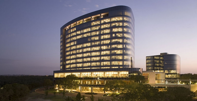 Tesoro Corporation headquarters in San Antonio, TX, a LEED-certified building. P