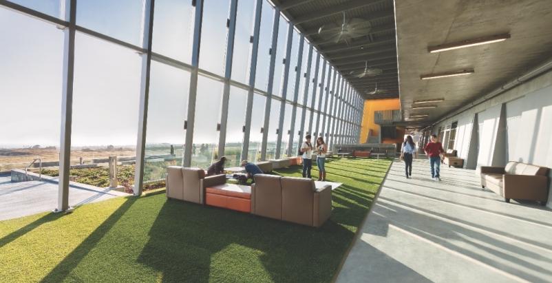 At Coastline Community Colleges Newport Beach (Calif.) Campus, the Building Tea