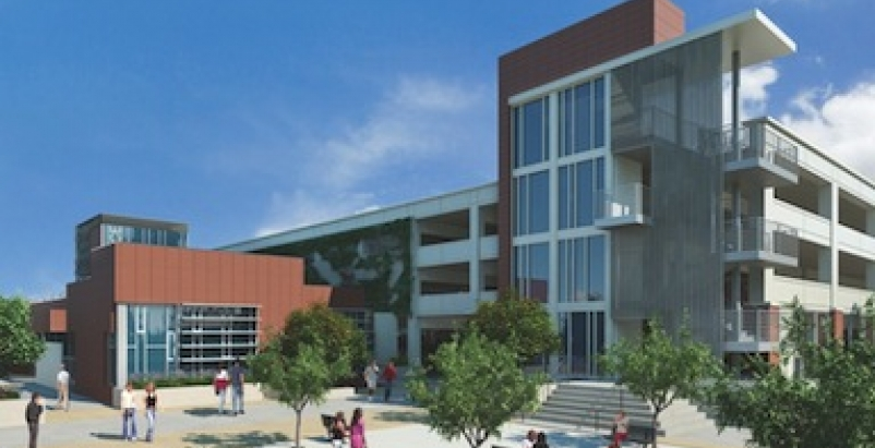 Community College Police Parking Structure Targets Leed
