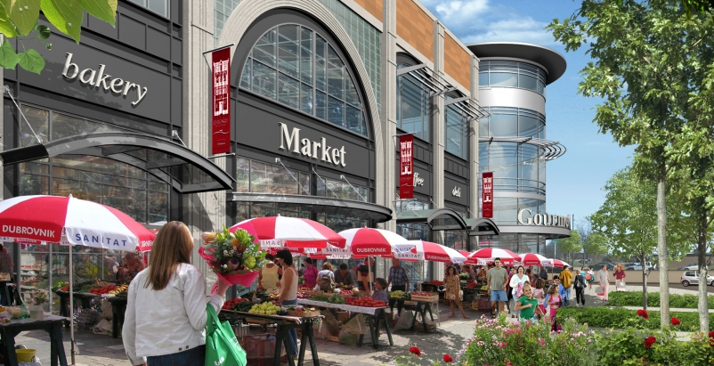 Roundys will operate an 80,000-sf Marianos Fresh Market at New City.