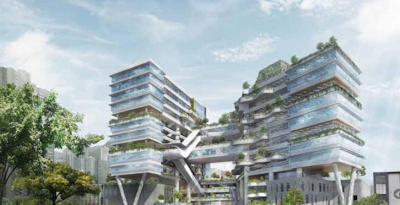 School in Hong Kong will feature bioclimatic façade