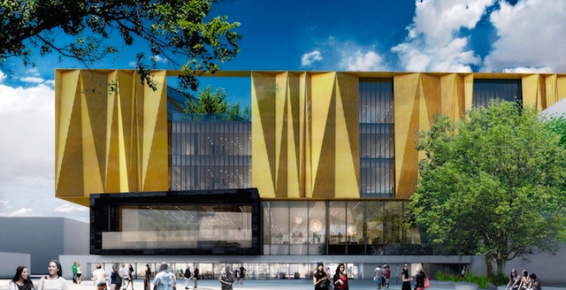 Designs For Earthquake Resistant New Central Library In
