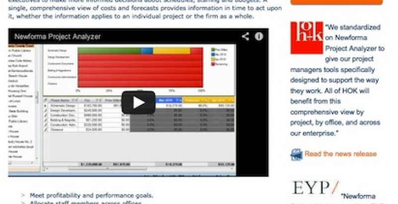 Newforma releases next generation Project Analyzer software