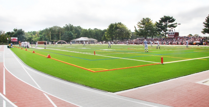 The new, $3.8-million, 100,000-square-foot sports complex replaced and expanded