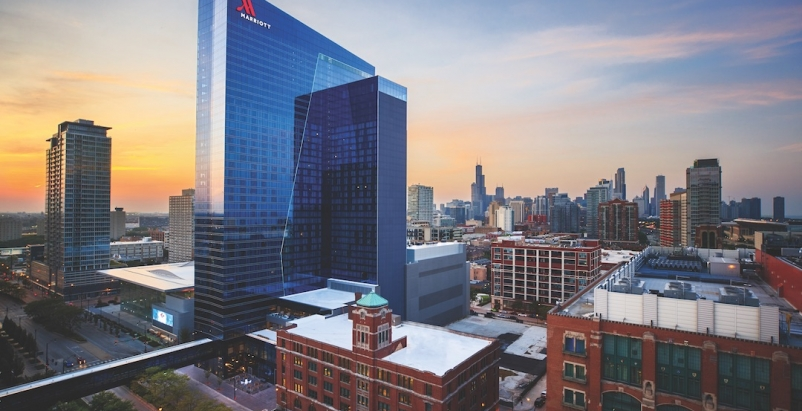 The new Marriott Marquis Chicago