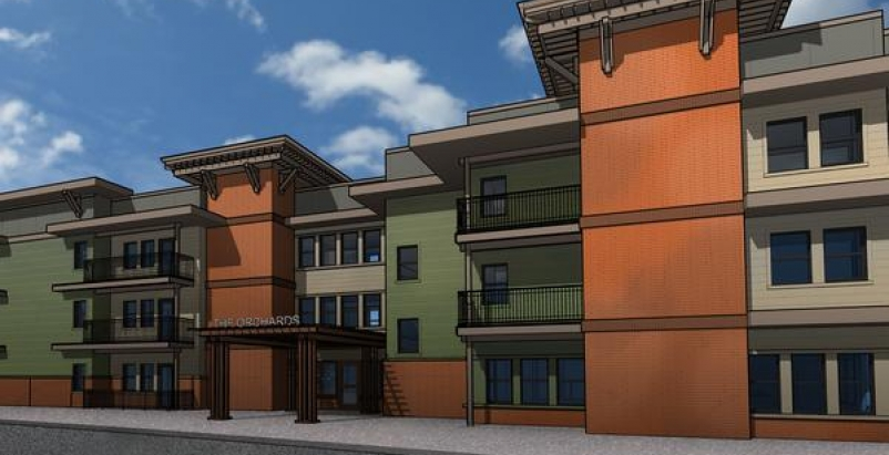 Rendering courtesy Walsh Construction