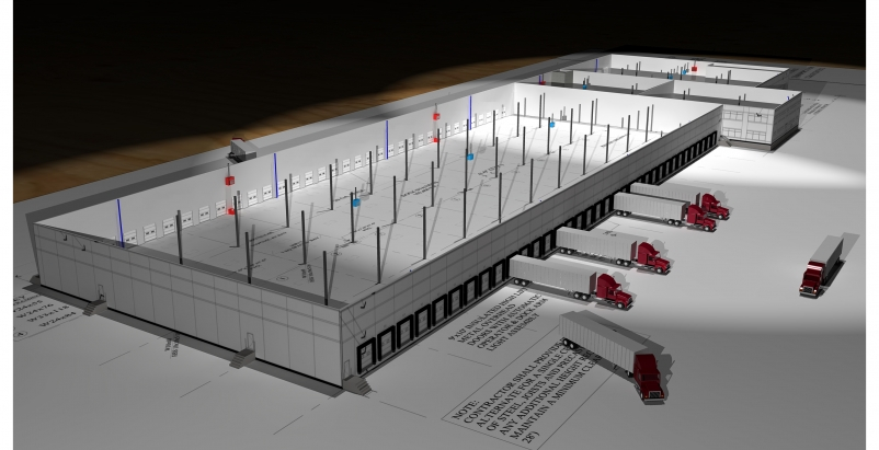 Meridian Design Build has been selected to act as general contractor for a 38-ac
