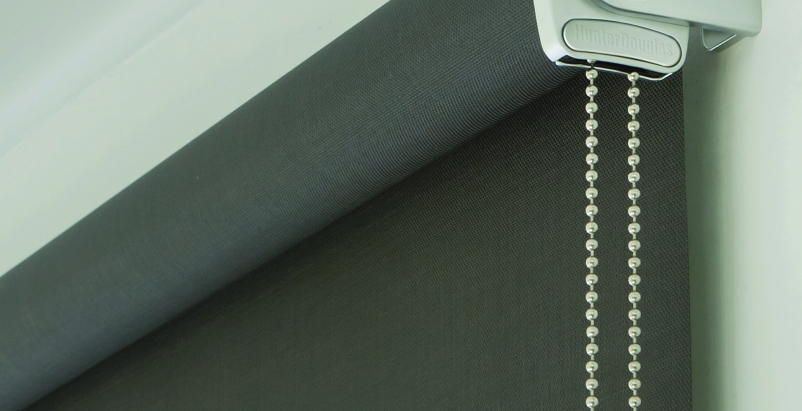The RB 500 Roller Shade accommodates large or inclined windows and are designed