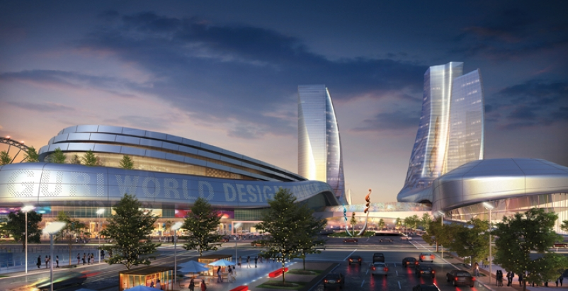 Sitting on the outskirts of Seoul, the Guri World Design Centre will be the foca
