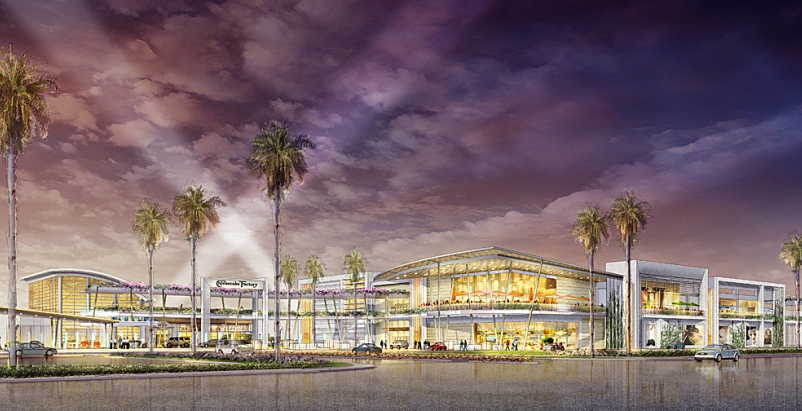 The Dadeland Mall Kendall Wing Expansion. Courtesy of Simon Property Group.