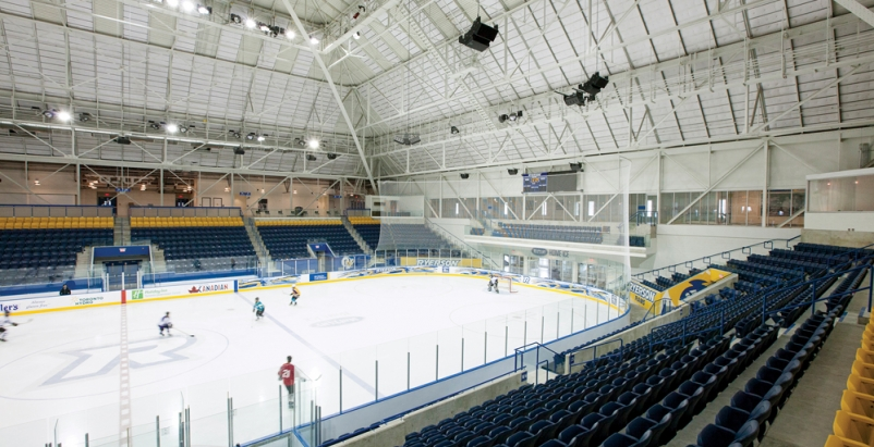 Toronto Maple Leafs Arena Converted To University