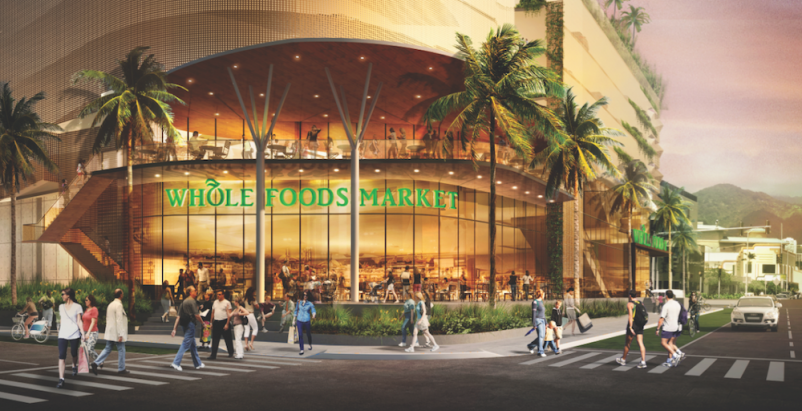 Urban developers add supermarkets to the mixes