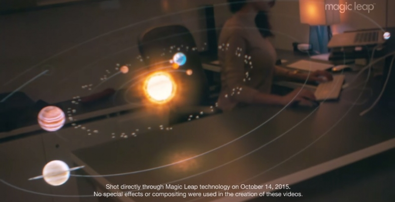 Magic Leap's augmented reality project continues to generate support