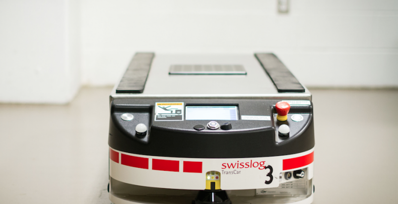Toronto's newest hospital employs 10 robots for moving food, supplies, and equipment