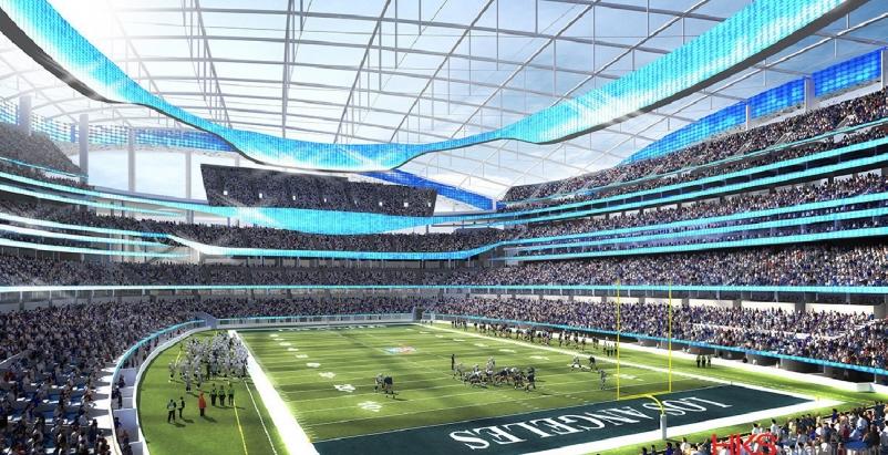 Multi-billion-dollar stadium planned as the NFL returns to Los Angeles