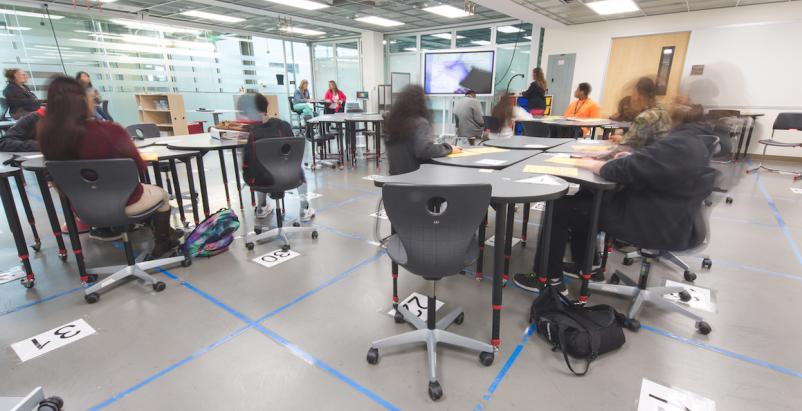 LEx Labs prototype classroom, Huckabee