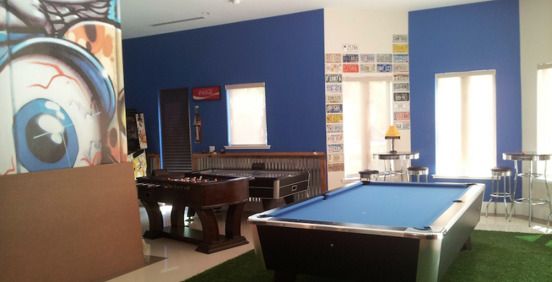 Spaces for games and game simulators top the list of recreation-related amenities in multifamily developments.