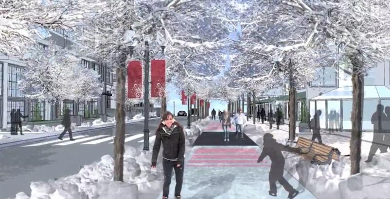 Edmonton considering 'freezeway' to embrace winter