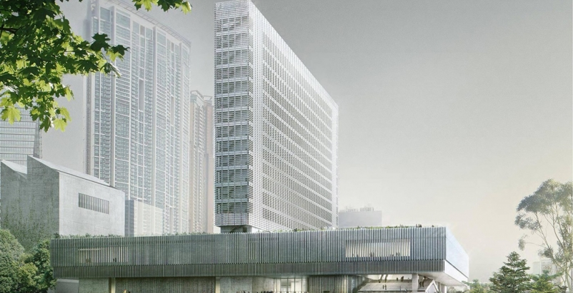 Herzog & de Meuron-designed M+ museum begins construction in Hong Kong