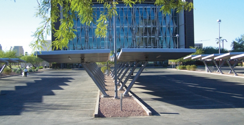 Phoenix Library Cuts Energy Costs With Solar Covered