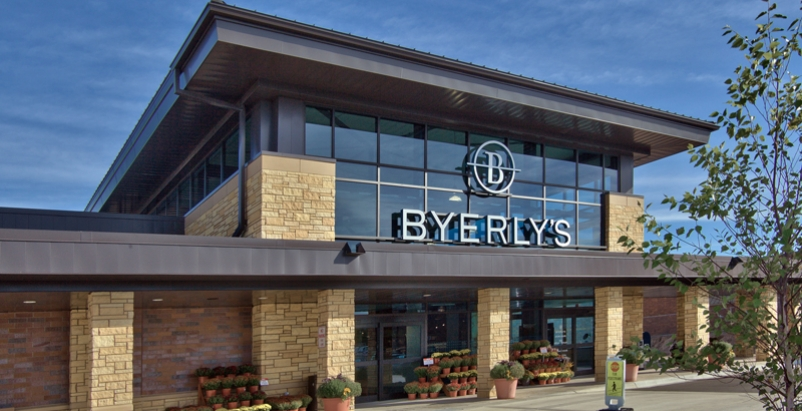 Bigger, brighter daylighting in Byerly's supermarket