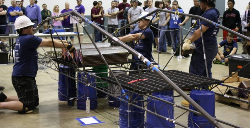 Uc Davis Students Win Big In Steel Bridge Engineering