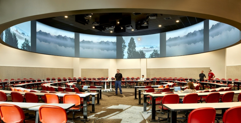 The 360-degree classroom in the Spark